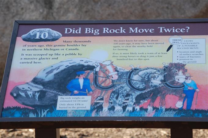 About The big Rock