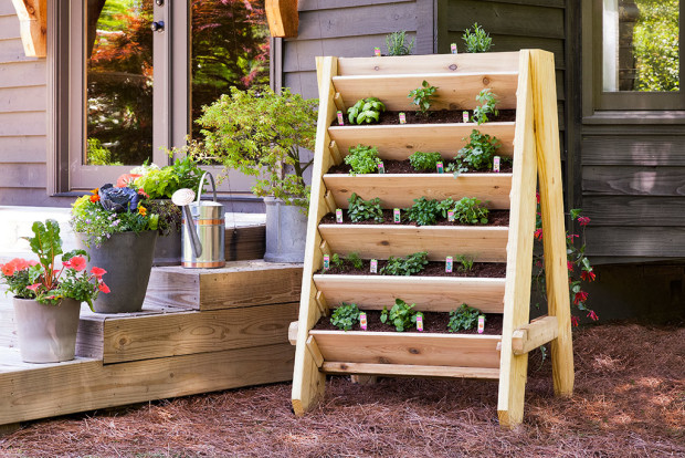 pallet garden ideas herbs bonnie plants - Garden Ideas With Pallets