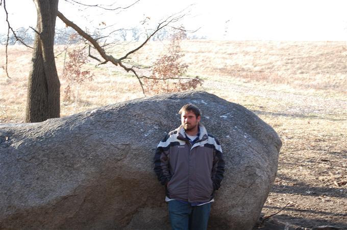 "A trip to Morton Arboretum… ""Big Rock"""