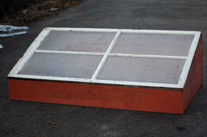 How to Build A Coldframe with Wood