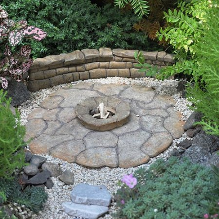 Fairy Garden Firepit, no way!