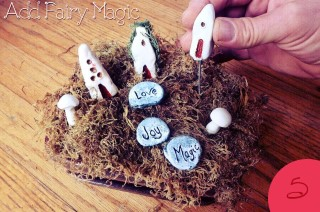 How to Make a Fairy Garden… Without Plants?