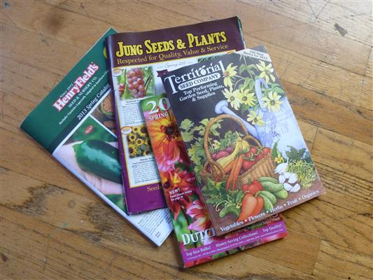 The Seed Catalogs are arriving