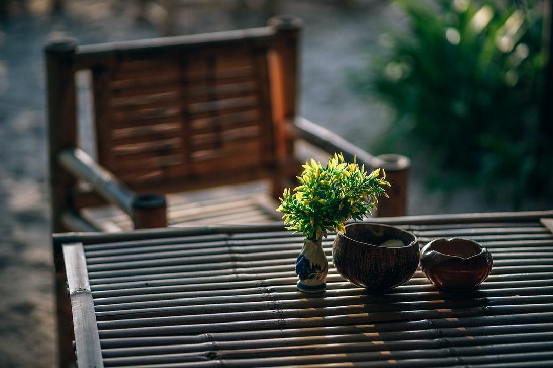 serene backyard landscape design